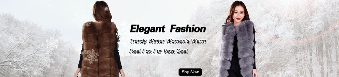 Real Fur Vests